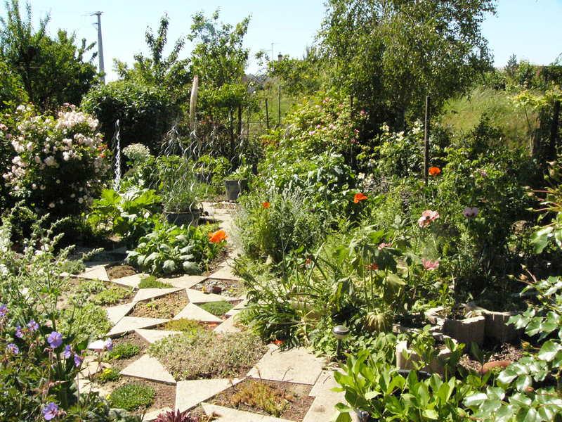 jardin des `MAL`AKHIM  Lysiane:visite_du_jardin:2009:p1340320